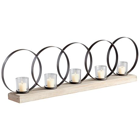 Ohhh 5 Candle Iron Votive Candle Holder
