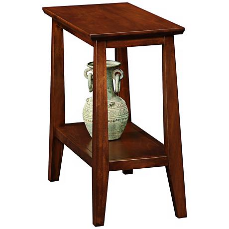 Delton Chairside Solid Wood Narrow End Table
