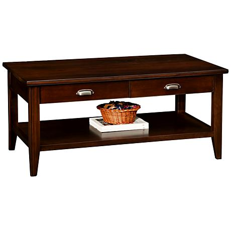 Laurent Two Drawer Coffee Table