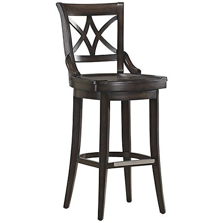 "American Heritage Freemont Riverbank 30"" Swivel Bar Stool"