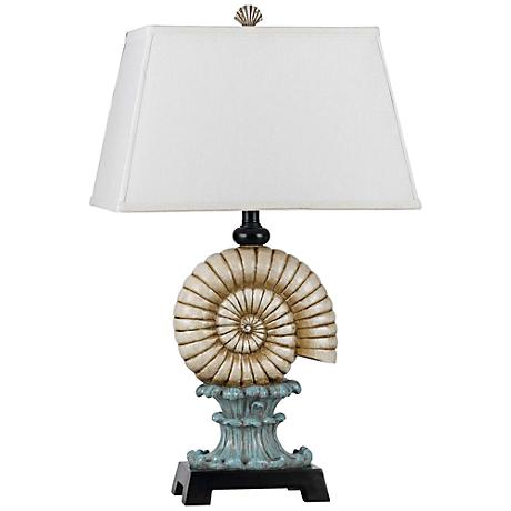 Bluebell Conch Shell Table Lamp