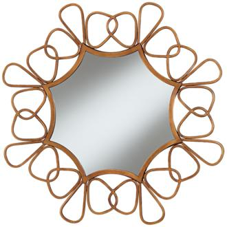 Mariposa Copper 31 Round Wall Mirror (3X290)