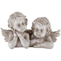 Leaning Cherubs Table Sculpture