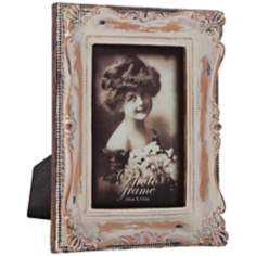 Willoughby Whitewashed 4x6 Photo Frame
