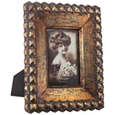 Kashmir Bronze 4x6 Photo Frame