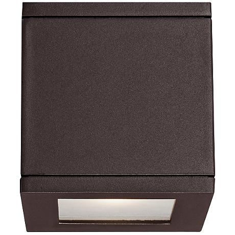 "WAC Rubix 5"" High Bronze LED Up - Downlight"
