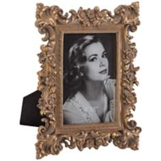 Romano Ornate Antique Gold 4x6 Picture Frame
