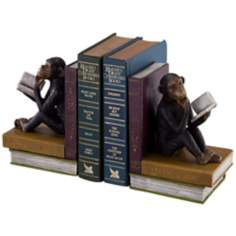 Thinking Monkeys Bookends Set