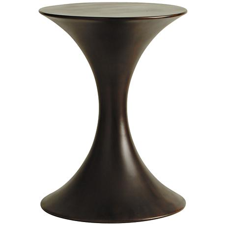 Arteriors Home Black Walnut Accent Table