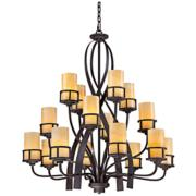 Quoizel Kyle 16-Light Imperial Bronze Chandelier