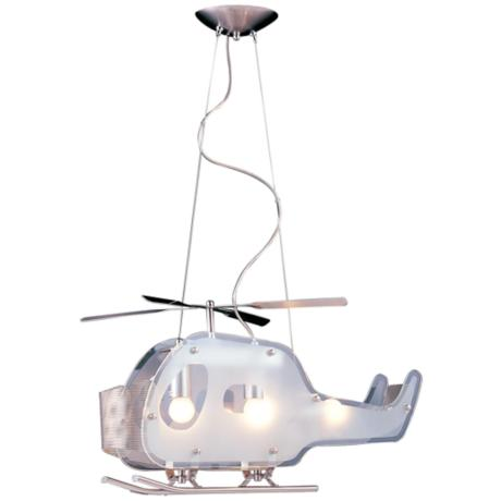 Adventure Chopper Pendant Chandelier