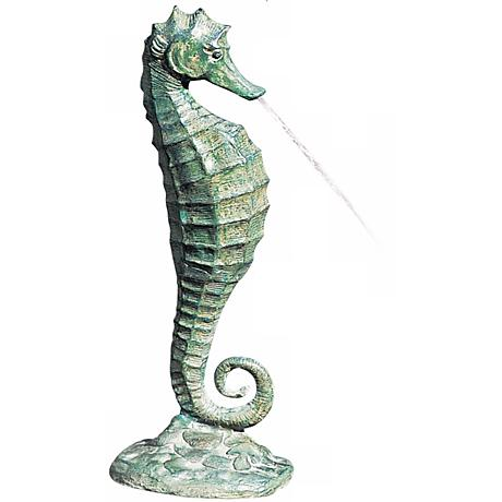 Medium Sea Horse Fountain