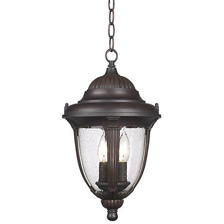 "Casa Sierra™ 16  1/2"" High Outdoor Hanging Lantern"