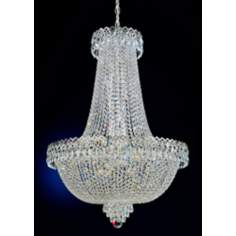 Schonbek Camelot Collection Silver Chandelier
