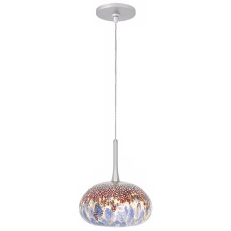 LBL Jelly Blue Glass Monopoint Pendant