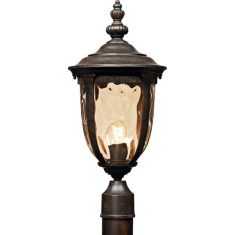"Bellagio™ Collection 21"" High Post Mount Light"