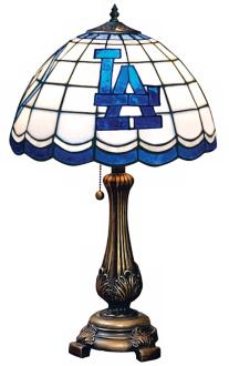 LA Dodgers Table Lamp Photo
