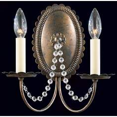"Schonbek Early American 11"" High Wall Sconce (QS)"