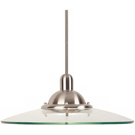 Kichler Galaxie Brushed Silver Nickel Pendant Chandelier
