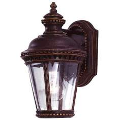 "Castle Collection 11 1/3"" High Outdoor Wall Light"