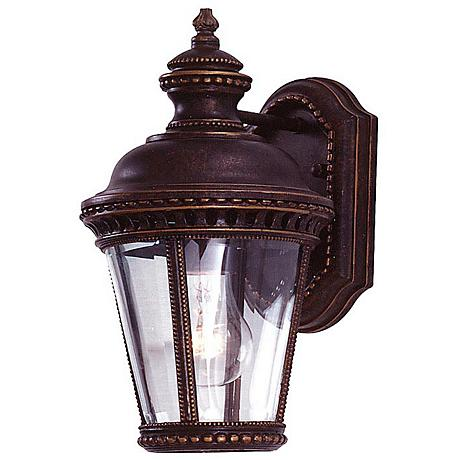 "Feiss Castle Collection 11 1/3"" High Outdoor Wall Light"
