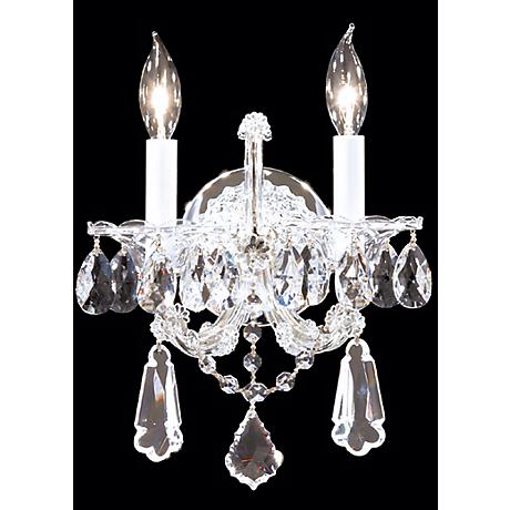 "James R. Moder Maria Teresa 14"" High Royal Wall Sconce"