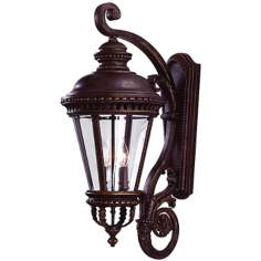 "Castle Collection 31"" High Outdoor Wall Light"