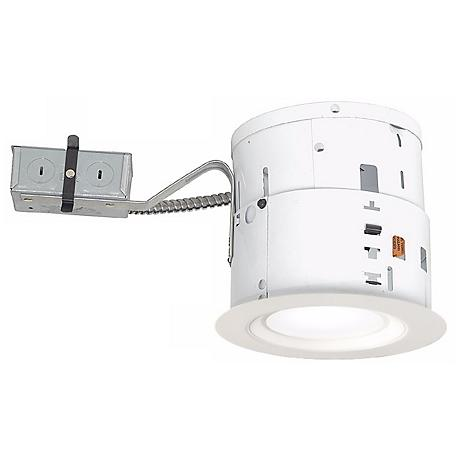 "6"" Non-IC Remodel 15W LED Complete Recessed Light Kit"