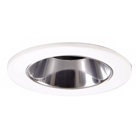 "Halo 3"" White and Clear Lensed Shower Recessed Light"