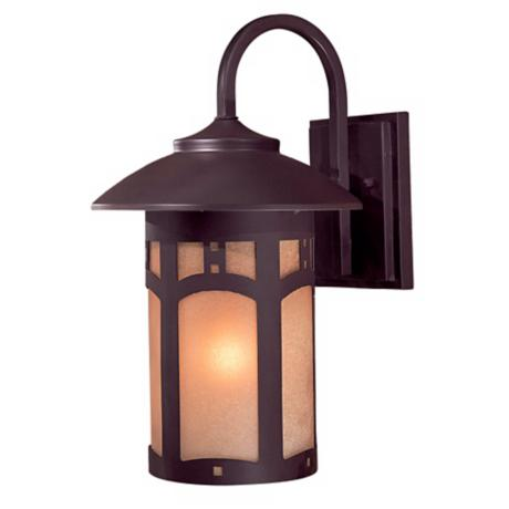 "Beacon Rhodes 15 1/4"" High Outdoor Wall Light"