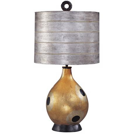 Flambeau Pericles Gourd Table Lamp