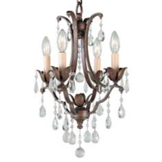"Maison de Ville Collection 12 1/2"" 4-Light Mini Chandelier"