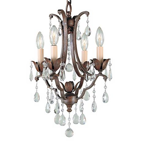 "Feiss Maison de Ville 12 1/2"" 4-Light Mini Chandelier"