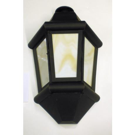 "Old World Finish 19"" High Fluorescent Wall Light"
