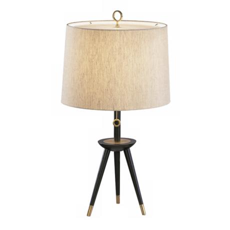 Jonathan Adler Ventana Wood Table Lamp