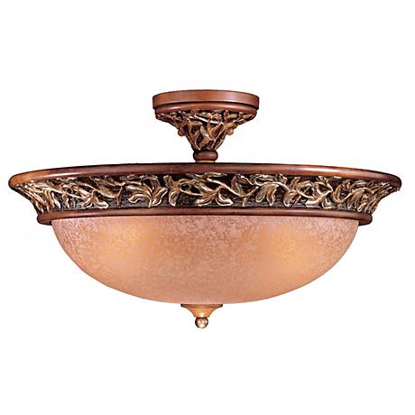 "Jessica McClintock Salon Grand 22 1/2"" Wide Ceiling Light"