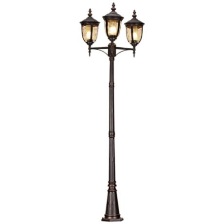 Bellagio 3-Light Energy Efficient Outdoor Street Lantern