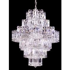 "Schonbek Equinox Pendant 28"" High Chandelier"