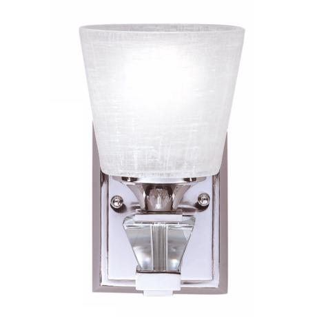 "Deluxe Collection Chrome 10"" High Wall Sconce"