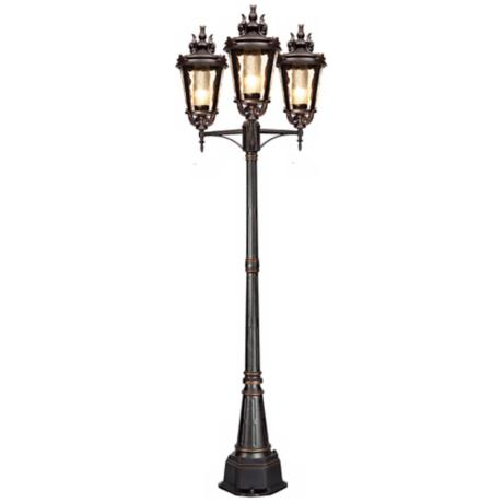 "Casa Marseille™ Trio 100"" High Outdoor Street Lantern"