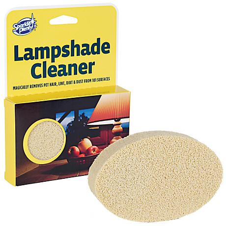 Sponge Lamp Shade and Fabric Cleaner