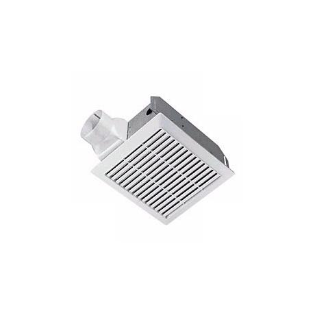 White Finish 50CFM Bathroom Exhaust Fan