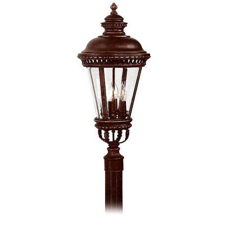 "Castle Collection 22 1/4"" High Outdoor Post Mount Light"