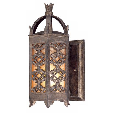 "Gables Collection 16"" High Outdoor Wall Light"