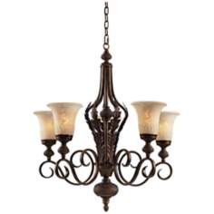 Briarcliff Collection 5-Light Uplight Chandelier