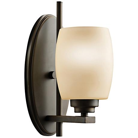 "Kichler Eileen 10 3/4"" High Olde Bronze Wall Sconce"