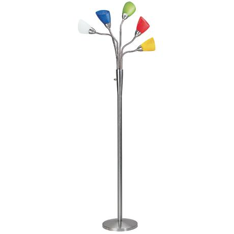 Lite Source Calypso Five-Lite Floor Lamp