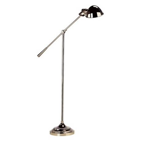 Robert Abbey  Alvin Polished Nickel Boom Floor Lamp