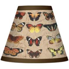 Butterfly Flight Set of Four Shades 3x6x5 (Clip-On)