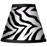 Classic Zebra Set of Four Shades 3x6x5 (Clip-On)